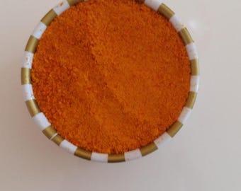 Citrus Tangerine Organic zest powder awesome orange color