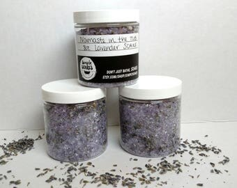 Namaste in the Tub | Lavender SOAKE | All Natural | Bath Salts | Bath Enhancements