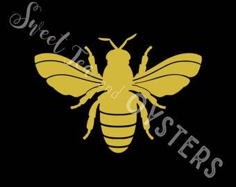 Honeybee Decal for Cars, Laptops, Tumblers, Etc