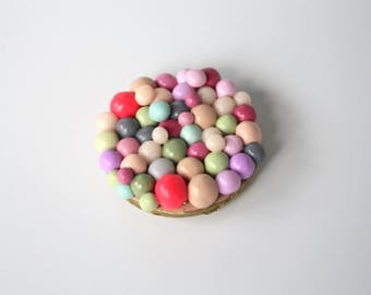 Candy Bubble Polymer Clay Magnet