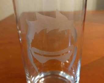 Soldier: 76 OverWatch - Etched Glass