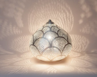 Table lamp openwork