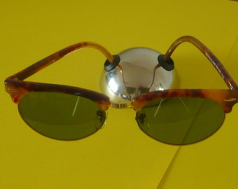 Original vintage oval Clubmaster Ray Ban W1265