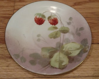 Limoges France strawberries