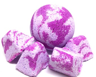 Jasmine & Lavender Bath Bomb Set (Freshly Made)