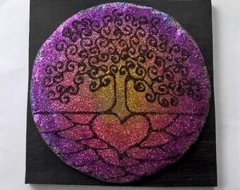 Glitter art Tree of Life