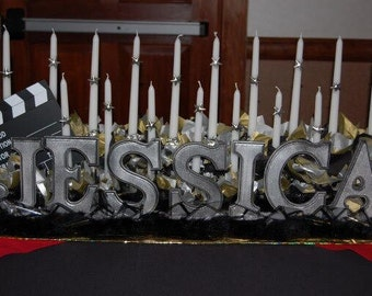 Sweet 16 Candle Holders