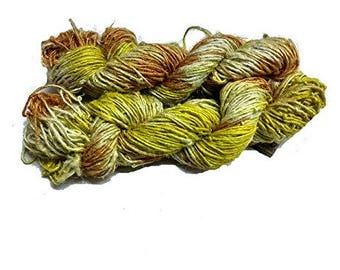 Indian Banana Silk Tie & Dyed Yarn multicolor 400-500 Grams