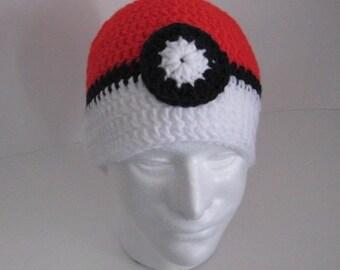 Pokemon Themed Crocheted Beanie