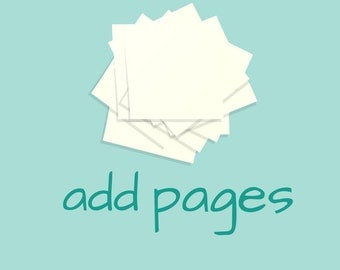 Add Blank Pages to your book
