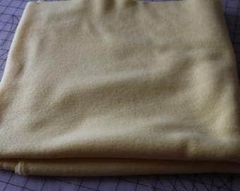 1 Yellow Fleece Polar Fleece Fabric 1