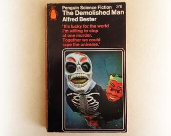 Alfred Bester - The Demolished Man - Penguin science fiction vintage paperback book - 1966