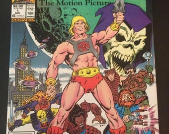Masters Of The Universe: The Movie  # 1 by Star Comics . - Comic Adaptation