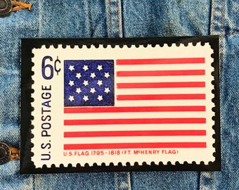 US Flag 6c Stamp