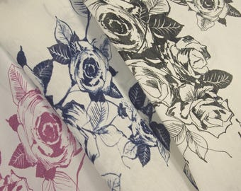 Rose Print Polyester
