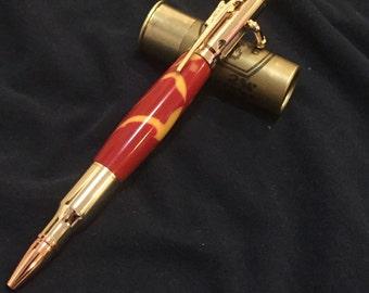 30 Caliber Bolt Action Acrylic Pen