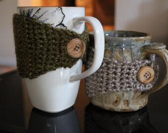 Buttoned Mug Warmer