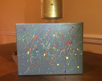 Paint Splatter- Canvas Art