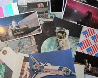 Ephemera - Retro Space - Paper Pack - Junk Journal