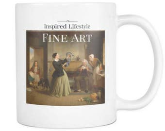 The New Bonnet - Fine Art Mug - 11 oz