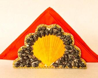 Handmade Sea shell Napkin holder