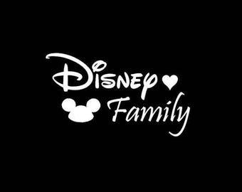 Disney Family Decal