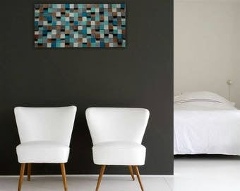 """""""Aria"""" wooden wall sculpture"""