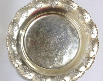 Metal Serving Plates / Food Photography Props