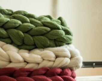 Chunky knit snoods