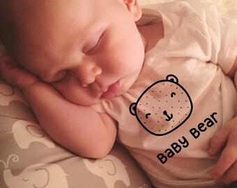 SINGLE TEE-Baby Bear / Bear Family / Matching Tees / Baby Tees / Toddler Tee / Kids Tee / Cute Nature Tshirt / Onesie