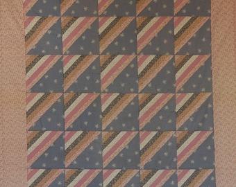 Setauket Stripes Quilt