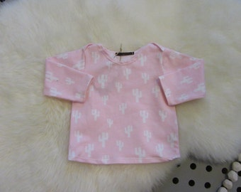 Baby pink t-shirt size 68