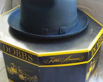 1940s Adam Fedora: Dobbs Fifth Avenue