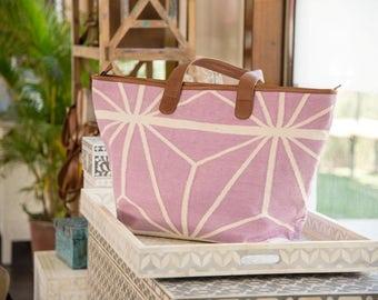 Lavender Beach Bag