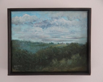 small landscape painting original