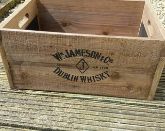 Jameson Whisky Storage Box (for any storage usage required)