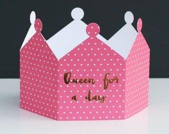 Queen Crown Card