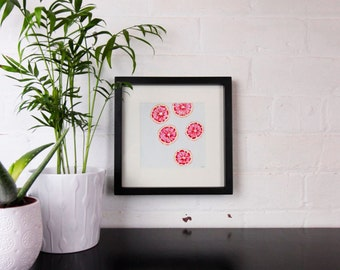 Grapefruit - Framed Original Oil Painting