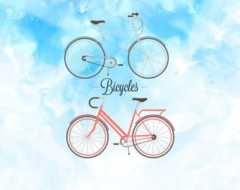Vintage Retro Bicycles SVG Files   Bicycles Clipart SVG   Bicycles Dxf   Bicycles Cricut   Bicycles Vector Svg   Bicycles Svg   ScanNcut