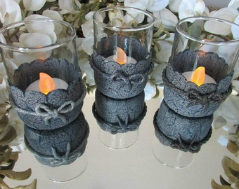 FREE SHIPPING!! Polymer Clay Votive Candle Holder