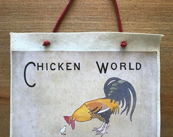 Vintage Book Covers - Chickenworld