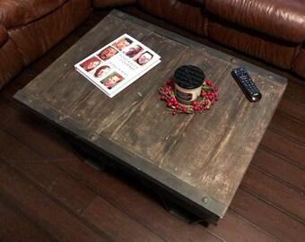 Coffee table.  Handmade