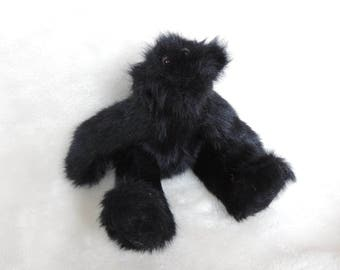 Handmade Teddy Bear: Midnight