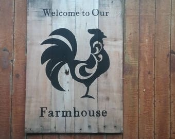 Farmhouse Pallet Art