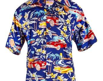 Navy Classic Cars Shirt