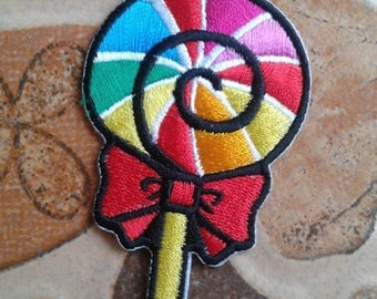 Cute candy patch for kids.
