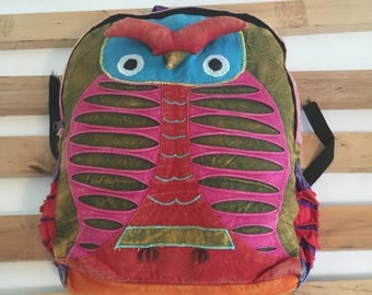 Goodluck Handmade  School,College,Travel,Laptop Backpack(Free Shipping USA)