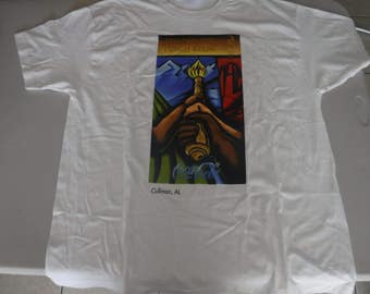 vintage Atlanta 1996 olympic Torch relay #36 of 380  t shirt