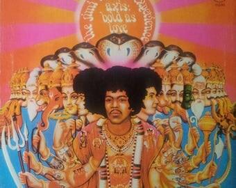 The Jimi Hendrix Experience framed vinyl - Axis: Bold As Love 1979