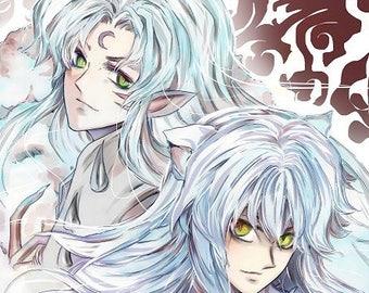 InuYasha and Sesshomaru poster Dina 3